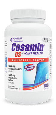 Cosamin® DS. Proven by more research than any leading joint supplement 1. Effective at the cellular level. A revolutionary formula. Available in easy-to-swallow capsules or caplets.