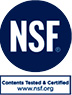NSF Tested & Certified Logo